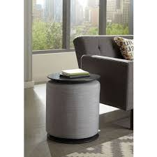 Grey Accent Table Accent Table W Grey Ottoman Coaster Furniture Furniture Cart