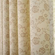 country lace curtains flroal for bedroom
