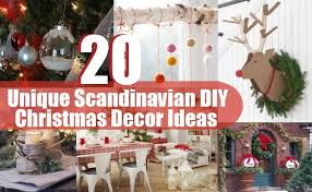 christmas decoration ideas home 20 unique scandinavian diy christmas decor ideas diy home life