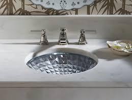 Undercounter Bathroom Sink K 2361 Kallos Spun Glass Undermount Sink Kohler