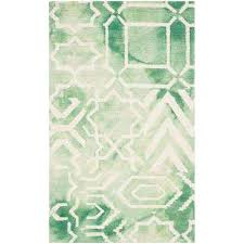 Green Chevron Area Rug Green 3 X 5 Chevron Area Rugs Rugs The Home Depot