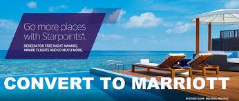 buying spg starpoints to convert them to marriott rewards