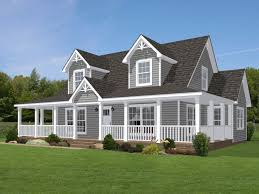 new farmhouse plans shown with optional doghouse dormers 2 and site built wrap