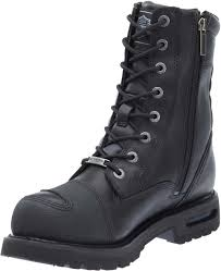 buy motorcycle waterproof boots harley davidson men u0027s richfield black performance motorcycle