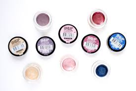 make up series 9 cream eyeshadows charline has a blog