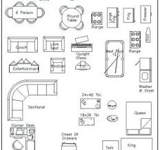 free furniture templates for floor plans wonderful printable furniture templates images the best