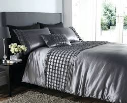 Silk Duvet Cover Queen Duvet Covers Chandelier Comforter Set Silver Gray Silver Duvet