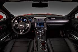 2015 ford mustang the of the 2015 ford mustang interior design mustangs