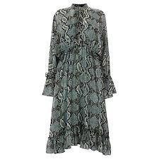 karen millen dresses for womens blue multi snake print dress