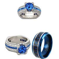 Wedding Rings Sets His And Hers by His And Hers Rings Ebay