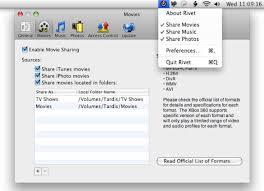 rivet streams mac video music photos to xbox 360 macworld