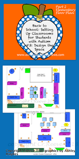 Floor Plan For Classroom by Back To Setting Up Classrooms For Students With Autism 3
