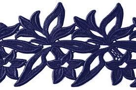 navy lace ribbon sabrina lace ribbon dsi london