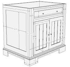 Build Your Own Bathroom Vanity Cabinet - plans for cabinet bathroom vanityonline lessons download bathroom