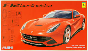 Ferrari F12 Orange - fujimi rs 33 ferrari f12 berlinetta dx 1 24 scale kit 126197