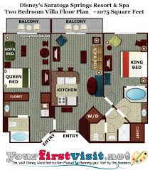 Two Bedroom Floor Plan Saratoga Springs Two Bedroom Villa Floor Plan U2013 Meze Blog
