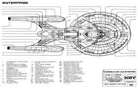 star trek blueprints sovereign class federation starship u s s