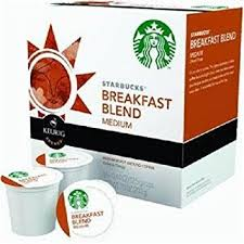 Blend K Cups Starbucks Breakfast Blend K Cup For Keurig Brewers 16 Count