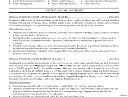 event coordinator resumes special event coordinator resume eugene fox 1 0a objective