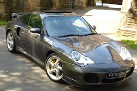 porsche slate gray metallic porsche 996 turbo s coupe rare