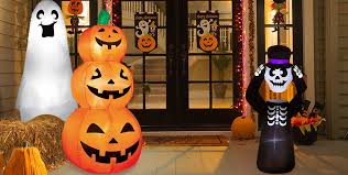 Halloween Decorations Outdoor Inflatables by Party City Halloween Decorations Kid Friendly Halloween Outdoor