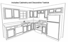 Kitchen Cabinet Layout by Pictures 3d Kitchen Cabinets Home Decorationing Ideas