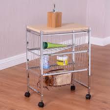 3 4 tier rolling baskets rack kitchen cart kitchen u0026 dining