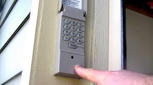 garage door lifter are keypad garage door controls safe