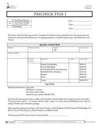 Sle Pay Stub Template Excel 29 Great Pay Slip Paycheck Stub Templates Free Template Downloads