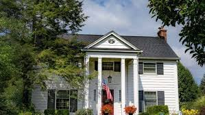 colonial house pbs what is a colonial house nice landscaping anchors a plain house to
