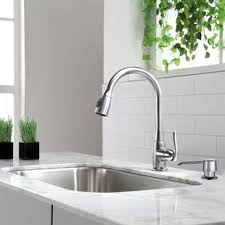 kitchen sink and faucet kitchen faucets wayfair