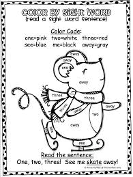 sight word coloring pages first grade eliolera com