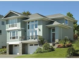 hillside garage plans house plans with drive under garage hillside level edesignsplans