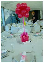 balloon table centerpieces balloons and party decorations