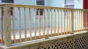 Decking Kits With Handrails Building Handrails For A Wooden Deck Today U0027s Homeowner