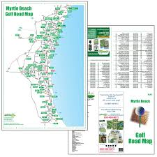 Myrtle Beach Map Golf Maps Fore Better Golf Inc