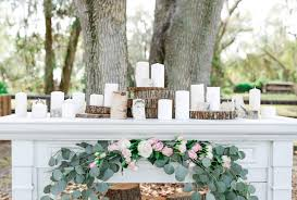 elegant vintage rustic backyard wedding plant city florida u2014 ever