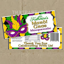 mardi gras candy mardi gras masquerade party package decorations favors