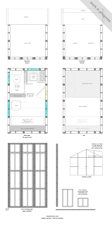 500 Sq Ft Tiny House Pallet House Plans Of I Beam Design House Interior