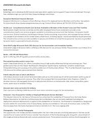 Resume For Technical Jobs by Military Families Resource Handout Mn