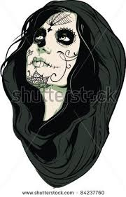 tattoo ideas zombie female zombie face drawing clipartxtras