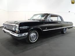 1963 chevrolet impala ss 2000 miles black 2dr 327 cid v8 4 speed