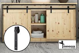 cabinet barn door hardware mini sliding barn door hardware kit for two doors