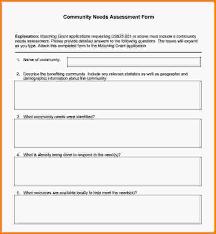 needs assessment template training needs assessment training
