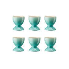 Cool Cup Le Creuset Egg Cup Set Of 6 Pieces Le Creuset Ambientedirect Com