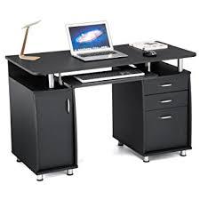 bureau pour ordi songmics bureau informatique meuble de bureau pour ordinateur 3