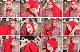 video tutorial jilbab segi empat simple tutorial hijab paris segi empat simple dian pelangi info kebaya modern