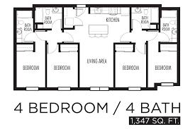 4 bedroom 4 bath house plans bedroom house plans home designs celebration homes pictures images
