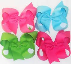 loopy bow 4 loopy bows large hair bow large bows big bows big loopy bow