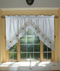 Swag Curtains For Living Room Country Style Valances Curtain Homey Ideas Country Style Curtains